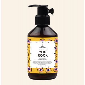 The Gift Label Hand Lotion You Rock Hand Lotion You Rock