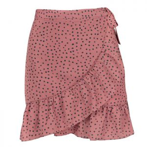 My Jewellery Dotted wrap skirt MJ00477 roze
