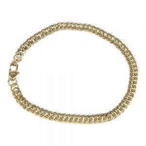 KalliKalli Schakel armband 2514 Goud