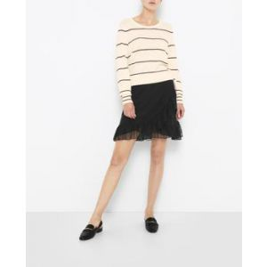 saint tropez  T8142 mesh skirt with ruf T8142 mesh skirt with ruf
