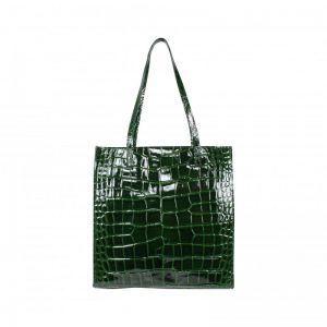 Baggyshop Paperbag lakleer RL-0382 groen