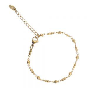 KalliKalli Schakel Armband 2549 Goud