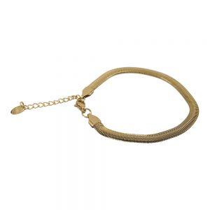 KalliKalli Schakel Armband 2553 Goud