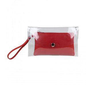 Baggyshop Transparant Bag RL 0427 rood