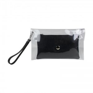 Baggyshop Transparant Bag RL 0427 Zwart