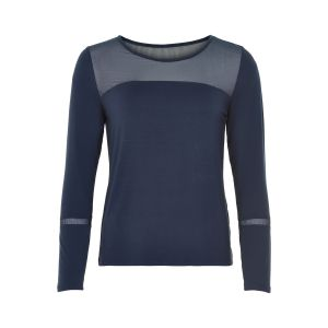 Numph Mabs Jersey blouse 7419307 blauw_1