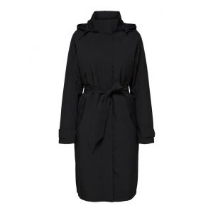 Selected femme SLFRasini Tech Coat 16068439 Zwart_1