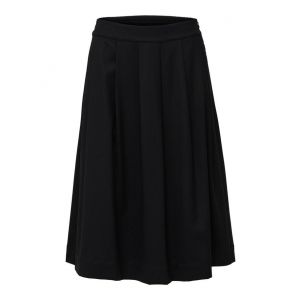 Selected femme SLFBio MW Wool Skirt 16069200 Zwart_1