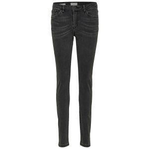 Selected femme SLFIda MW skinny jeans 16066492 Smoke Grey_1
