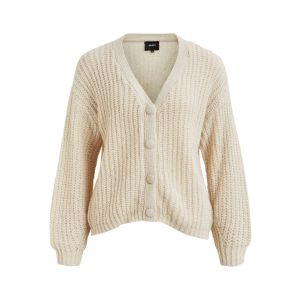 Object OBJIrma LS knit Cardigan 23029904 off white_1