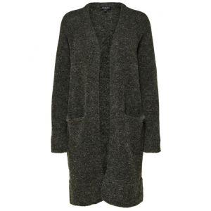 Selected femme SLFLanna LS Knit Cardigan 16068585 Rosin (donkergroen'_1