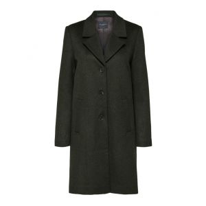 Selected femme SLFSasja Wool Coat 16064571 Rosin (donkergroen'_1