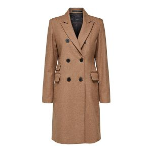 Selected femme SLFBina Wool Coat 16068115 Camel_1