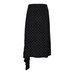 Selected femme SLFMelissa MW Skirt 16069041 Zwart_1