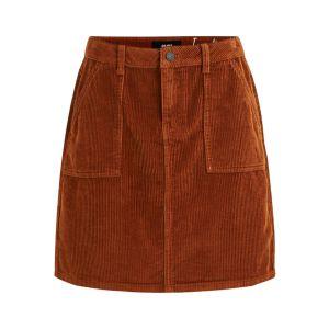 Object OBJRuma short skirt 23030604 Brown Patina_1