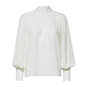 Selected femme SLFEllie LS Top 16073750 off white