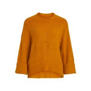 Object OBJTianna LS Knit 23030851 Buckthorn Brown_1