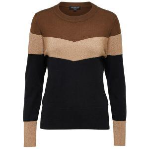 Selected femme SLFLissi LS knit 16071867 Zwart