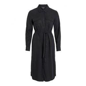 Object OBJMani LS Dress 23031993 Zwart_1