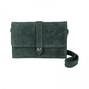 Baggyshop Let it be suede RL-0460 groen_1