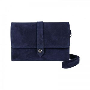 Baggyshop Let it be suede RL-0460 Donkerblauw_1