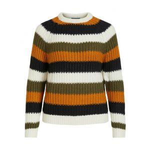 Object OBJMarcel LS knit pullover 23033023 Multi_1