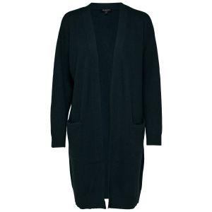 Selected femme SLFPhilua LS Knit Cardigan 16069580 Petrol