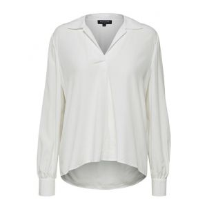 Selected femme SLFDaisy LS top  16068655 off white_1