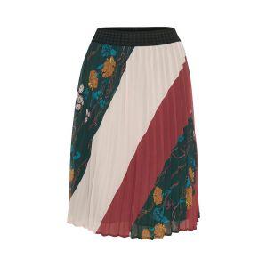 saint tropez  Woven plisse skirt 30501744 groen_1