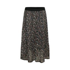 saint tropez  Woven skirt maxi 30501733 Zwart_1
