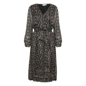 saint tropez  Woven dress long 30501647 Zwart_1