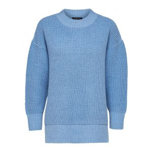 Selected femme SLFBailey LS knit  16073137 blauw_1