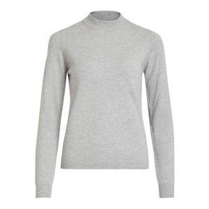 Object OBJThess LS knit pullover 23030144 grijs_1
