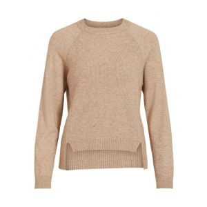Object OBJBetty LS knit 23032169 beige_1