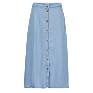 Numph Nuahna skirt 7220105 blauw_1