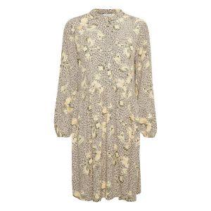 saint tropez  JennaSZ Paisley Woven Dress  30510127 geel_1