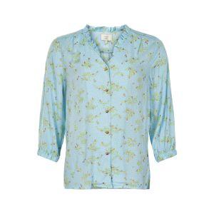 Numph Nuailbhe blouse 7220020 blauw_1