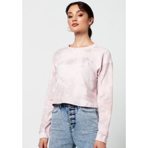 Rut&Circle Celine short sweater 20-01-35 roze_1