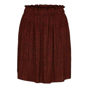Selected femme SLFPinsley MW Skirt 16074230  Smoked Paprika_1