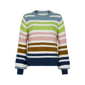 Numph Nubexley stripe pullover 7420218 Multi_1
