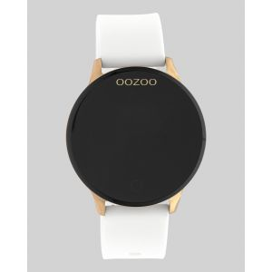 Oozoo Smartwatch Rubberenband Q00111 Rose/Wit_1