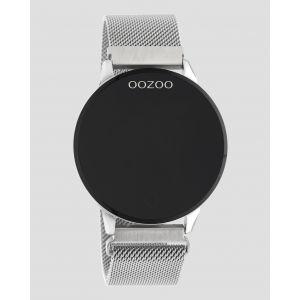 Oozoo Smartwatch Mesh band Q00116 Zilver/Zilver_1
