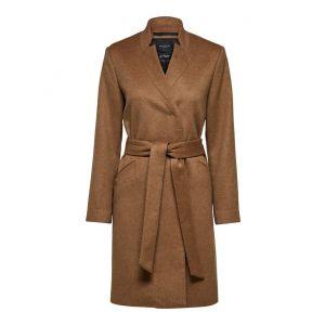 Selected femme SLFMella Wool Coat 16074048 Tigers Eye_1