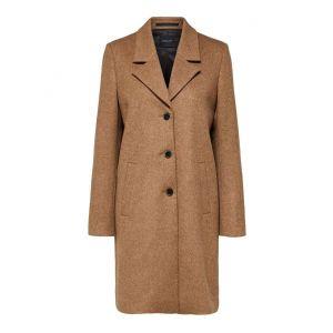 Selected femme SLFSasja Wool Coat 16064571 Amphora Melange_1