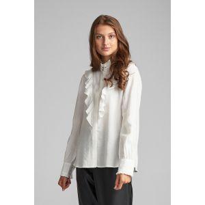 Numph NuBeach shirt 7520023 off white_1