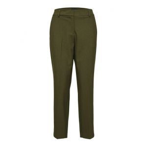 Selected femme SLFRia MW cropped pant 16075166 Moss_1