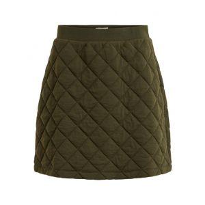 Object OBJMoni Quilted Sweat skirt 23034022 groen_1