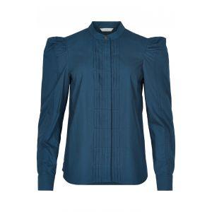 Numph Nubeatriz shirt 7520019 blauw_1
