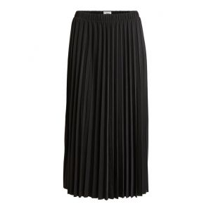Object OBJDines Long Skirt 23033945 Zwart_1