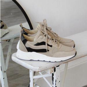 Juul&Belle New Sneaker New Sneaker Beige/black_1